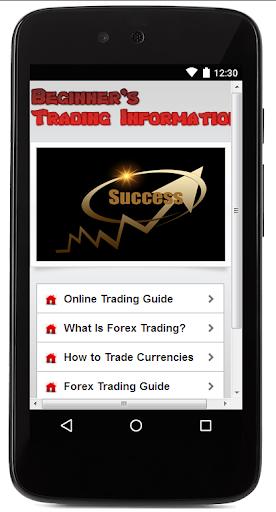 Beginner's Trading Information