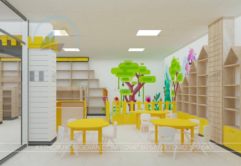 cách trang trí không gian nhà sách