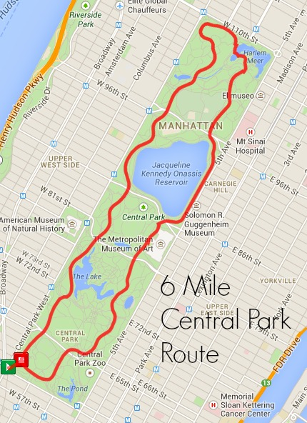 Image result for central park inner circle run