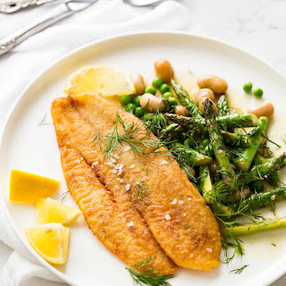 Pan Fried Fish Vegetables Recipes.