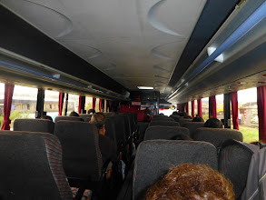 Photo: In the bus to Ambato