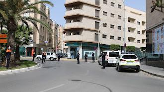 Imagen de archivo de un control de la Policía Local de El Ejido.