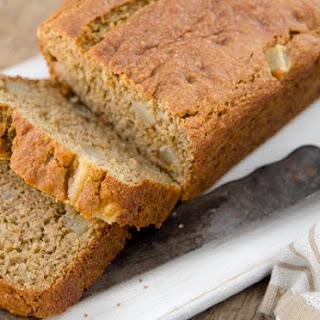 Gluten-free Pear & Banana Loaf