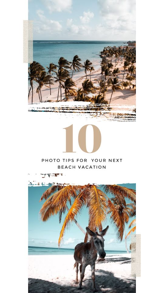 Ten Vacation Photo Tips - Facebook Story Template