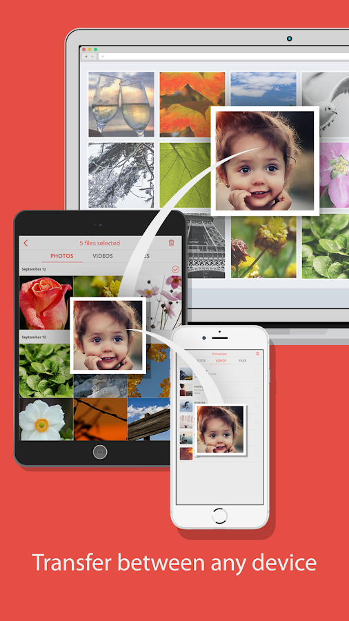FotoSwipe: File Transfer Share- screenshot