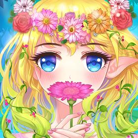 Сад & Одеваются - Цветочная принцесса сказка