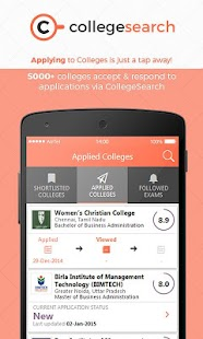 CollegeSearch Online Admission- screenshot thumbnail