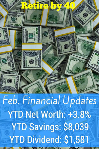 Feb. 2017 Goals and Financial Updates