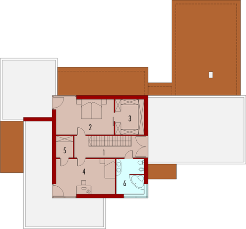 Steps G2 - Rzut piętra