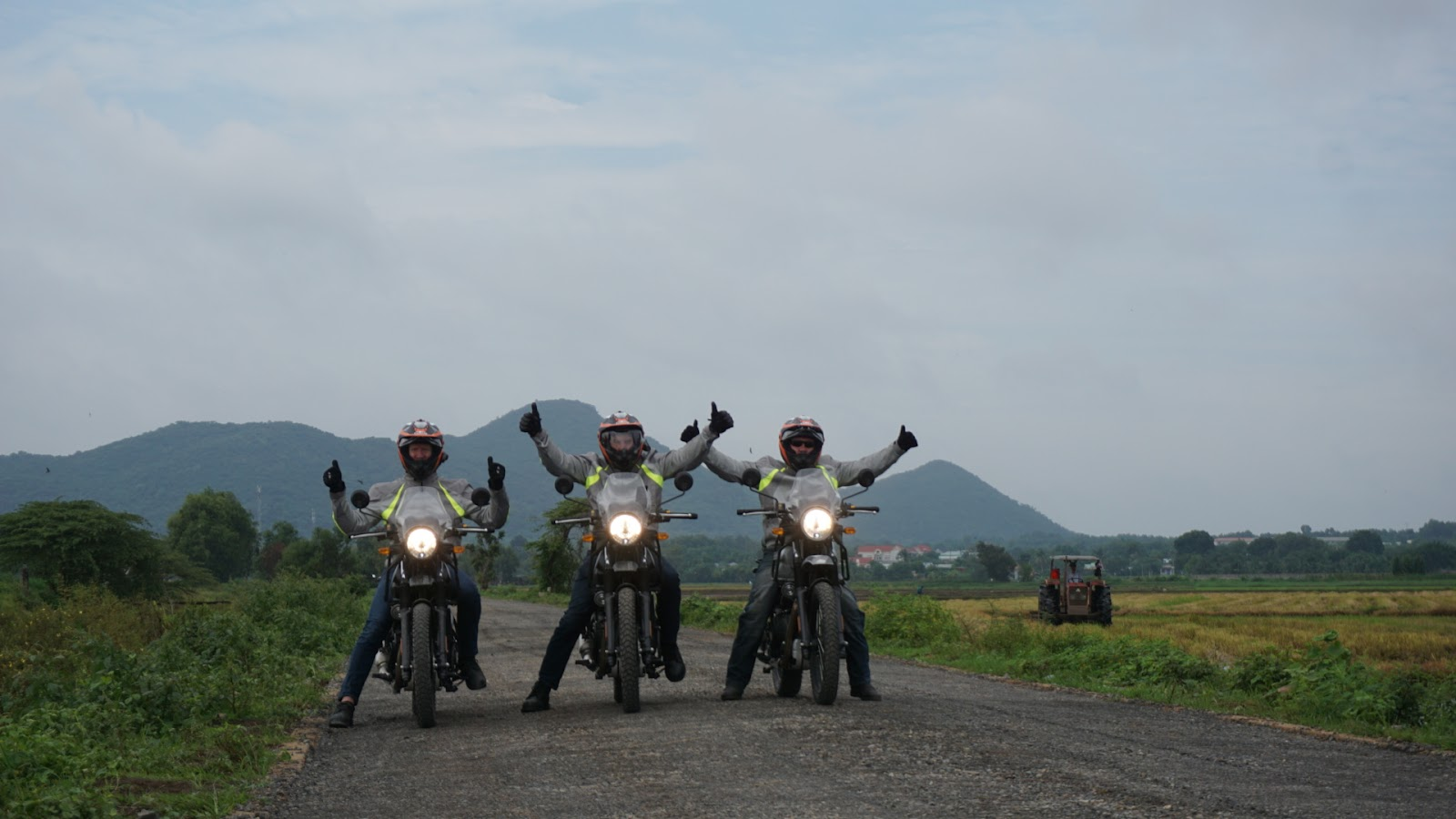 Riding from Vung Tau to Phan Thiet