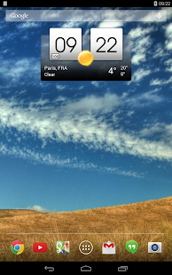 Digital clock & world weather- screenshot thumbnail