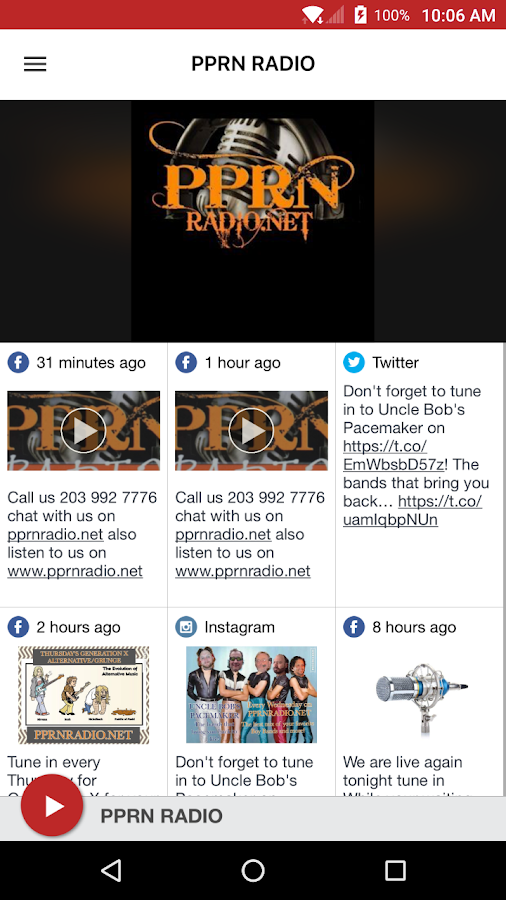 PPRN RADIO- screenshot