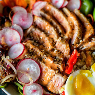 Fully Loaded Paleo Tuna Bowls