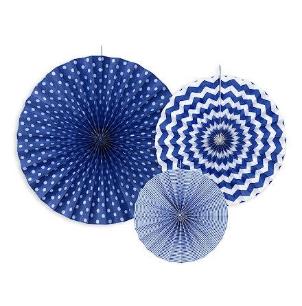 Dekorationsrosetter - Blå