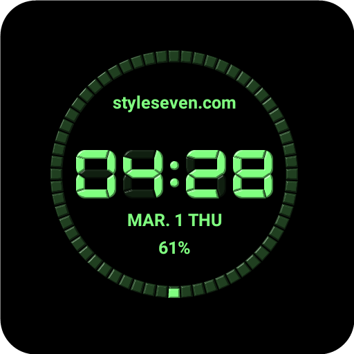 Digital Watch Face-7 for Wear OS by Google - Apps on Google Play