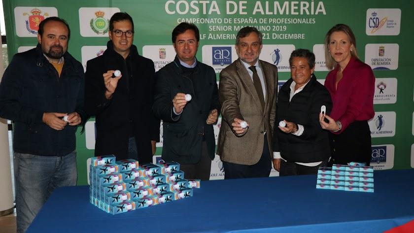 Los mejores golfistas llegan a Almería.