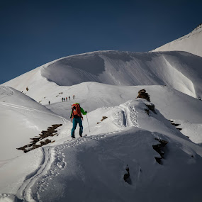 My country  by Eden Meyer - Landscapes Mountains & Hills ( ski, mountains, snow, skitouring, landscape,  )