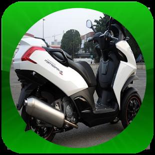Modifikace Motor Scooter - náhled