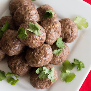Indian Spiced Lamb Meatballs Recipe