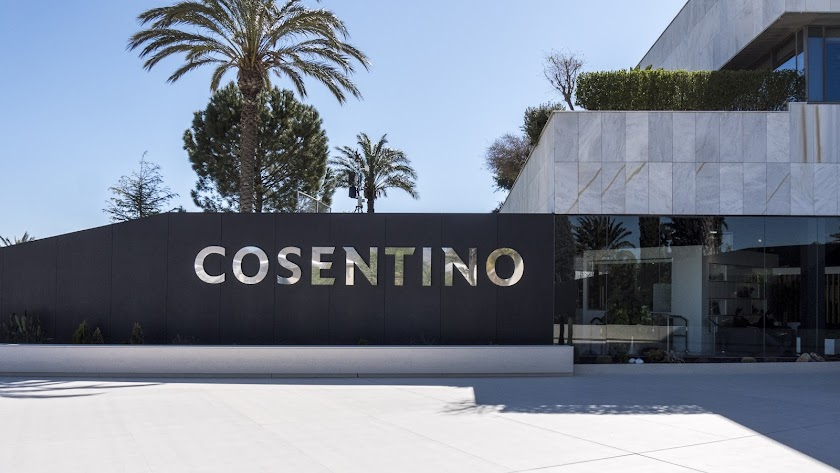 Grupo Cosentino tiene su sede en Cantoria.