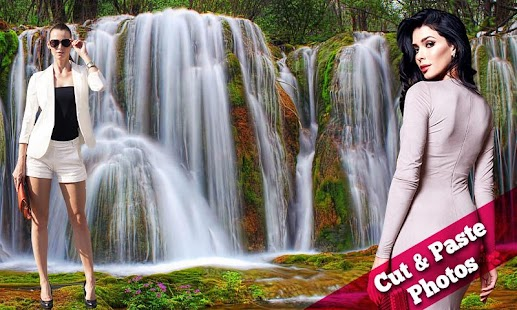 Waterfall Collages - náhled