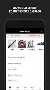 Rogue App - náhled