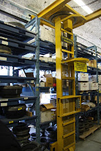 Photo: Lift system for parts storage