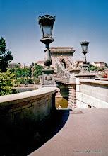 Photo: 15 mei. Boedapest. Detail van de Kettingbrug.