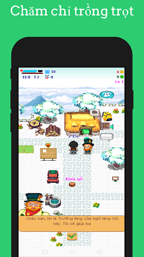 Ngoi Lang Cua Gio - Windy Village - Farm Game apktram screenshots 1