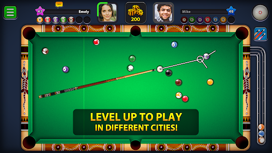 8 Ball Pool MOD (Extended Stick Guideline) 4
