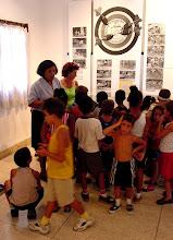Photo: kids explore museum of interior ministry, cuba. Tracey Eaton photo