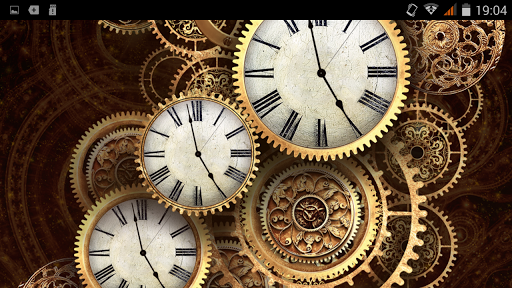 Steampunk Clock Wallpapers