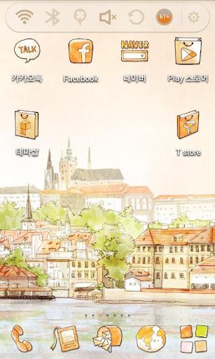 Hello Praha Launcher Theme