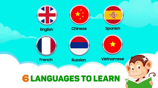 Monkey Junior: Learn to read English, Spanish&more 24.1.6 screenshots 2