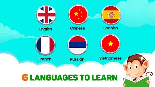 Monkey Junior: Learn to read English, Spanish&more 2