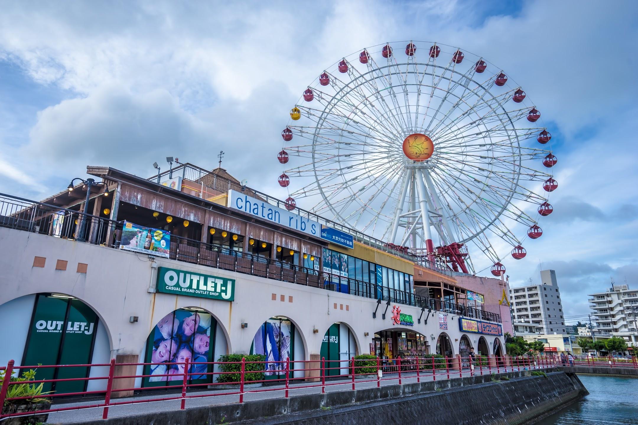 Okinawa American Village ferris wheel2