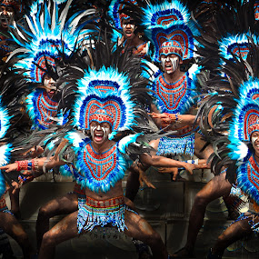 Blue Warriors by Jaime Singlador - People Group/Corporate