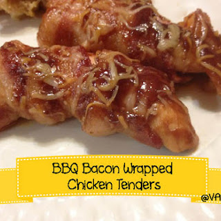 BBQ Bacon Wrapped Chicken Tenders