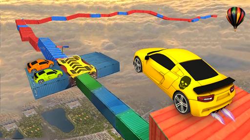 Super Fast Cars- Impossible Tracks Car Stunts 2019 Screenshot
