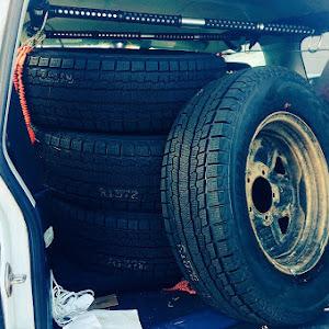 ジムニー JB23W 6型のタイヤのカスタム事例画像 うどんさんの2019年01月07日19:30の投稿