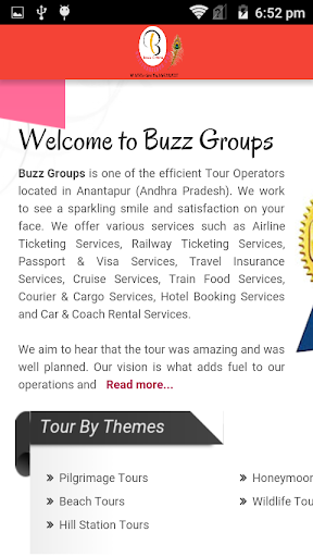 Buzz Travel Hub  screenshots 2