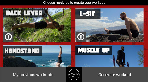 TrainingPal Lite screenshot 1