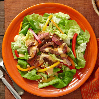 Sweet & Spicy Grilled Beef Salad.