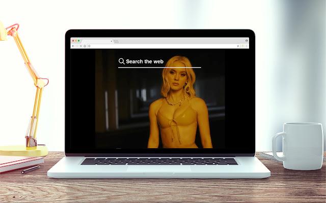 Zara Larsson New Tab Music Theme