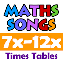 Maths Songs Times Tables 7~12x icon
