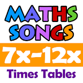 Maths Songs Times Tables 7~12x