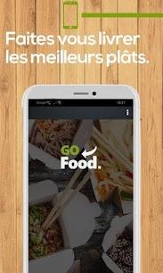 GoFood : Livraison de repas à domicile 1.0 MOD Apk Download 1
