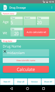 Drug Dosage Calculations (Demo) - náhled