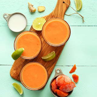 Coconut Papaya Smoothie