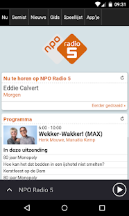 NPO Radio 5- screenshot thumbnail